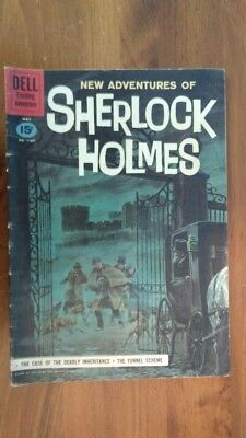 New Adventures Of Sherlock Holmes (1961) #1169 Silver Age Comic Book
