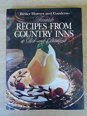 BH&G~Favorite Recipes From Country Inns & Bed-&-Breakfasts (USA)~Cookbook~HBWC