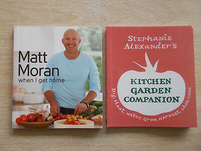 2 x Mini Cookbook Collection~Matt Moran & Stephanie Alexander~2 x 60pp