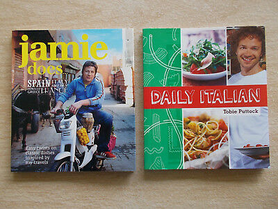 2 x Mini Cookbook Collection~Jamie Oliver & Tobie Puttock~2 x 60pp