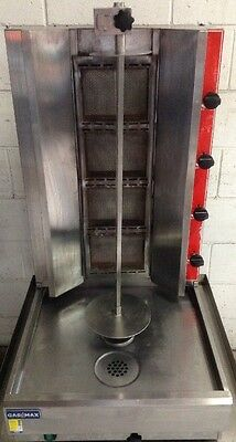 Commercial Restaurant Cafe Diner Kebab / Souvlaki Machine RG-2 Nat -GAS