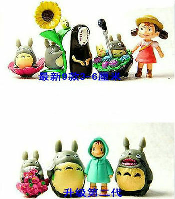 My Neighbor Neighbour Catbus Totoro Japan Anime Mini Figure Toys Set of 9pcs