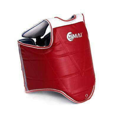 NEW SMAI Martial Arts Chest Guard - WTF Approved Reversible Body Protector - ...