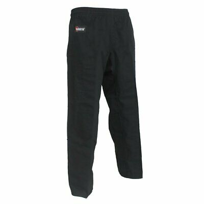 NEW SMAI Martial Arts Pants - Black - Adult/Kids Size 000 to 7 - Martial Arts...