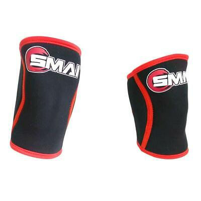 NEW SMAI Knee Support Sleeve (Pair) Compression Weightlifting Leg Bodybuildin...