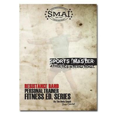 NEW SMAI Resistance Loop Band DVD - Exercise Sport Crossfit Physio Yoga Pilat...