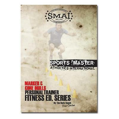 NEW SMAI DVD Agility Marker & Cone Drills - Sports Training Field Drill Pract...