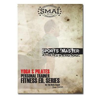 NEW SMAI Yoga & Pilates Mat DVD - Home Exercise Yoga Sport Tool - Stretching ...