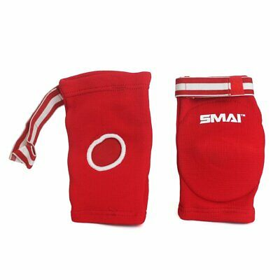 Muay Thai Elbow Pads Red Blue - MMA Kick Boxing UFC Wrestling