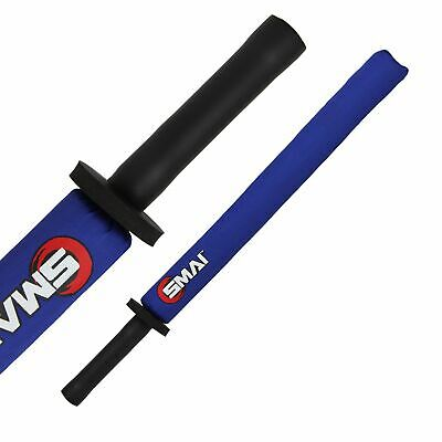 NEW SMAI Martial Arts Weapon Shoto - Safety 28inch in Blue, Red - Karate Trai...