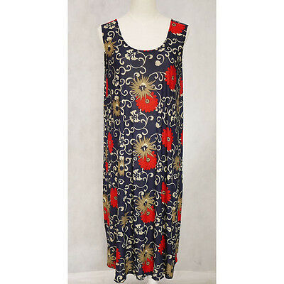 New Women Ladies Summer Sleeveless Casual Dress Stretch Clothing Free Size