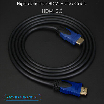 3FT 6FT HDMI 2.0 4K 3D Cable HDTV High Speed + Ethernet ps3 bluray UHD American