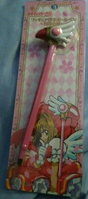 Card captor Cardcaptor Sakura ballpoint pen Seal Clow Wand Staff Ensky Japan