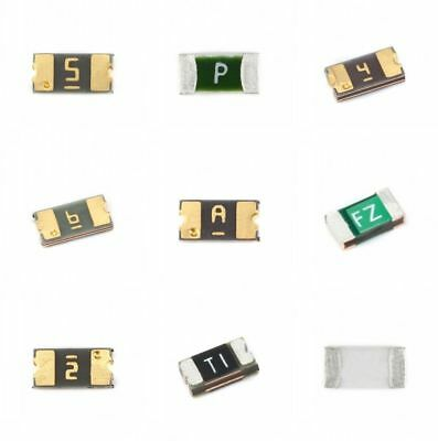 Case 1206 SMD Self Resetting Self-recover Fuse 0.05A 0.1A 0.2A 0.5A - 2A 3A