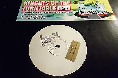 Knights Of The Turntable Vol. 27 - 4 TRACK EP - RAVE- HARDCORE - OLD SKOOL
