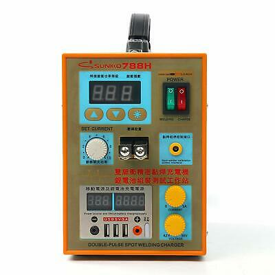 S788H-USB 110V Battery Pulse Spot Welder for 18650 Soldering Welding Machine HOT