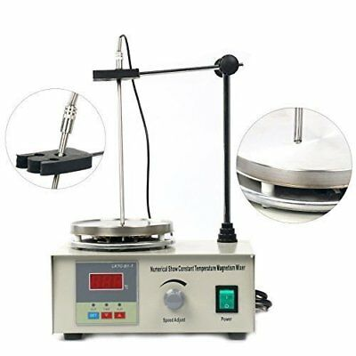 Magnetic Stirrer With Hotplate Digital Mixer Heating Plate Control 110V New