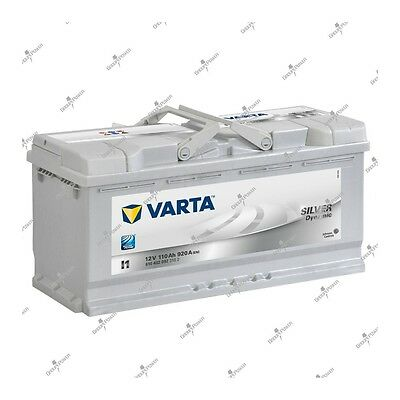Batterie voiture Silver Dynamic Varta I1 12V 110AH 920A 610402092 393X175X190mm