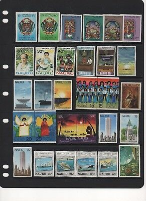 NAURU - Beautiful MINT Stamps
