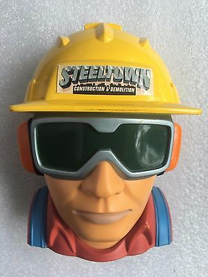 Collectable Micro Machines Steel Town Construction and Demolition Head 1997