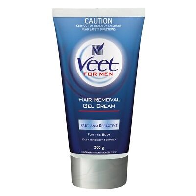Veet For Men Hair Removal Gel Cream 200g - Private Listing