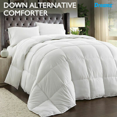 NEW Microfiber Down Alternative Comforter Quilt/Duvet/Doona All-season All Size