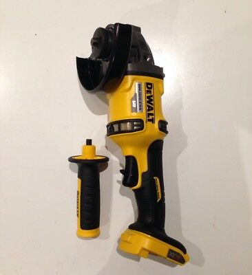 New Dewalt 54v Cordless Brushless Flexvolt 125mm Angle Grinder DCG414N