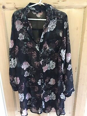 New Look Size 10 Maternity Shirt