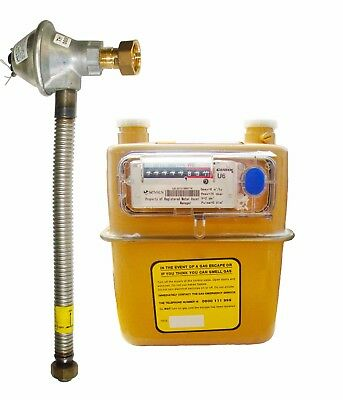 U6 / G4 Natural Gas Meter With Installation Kit