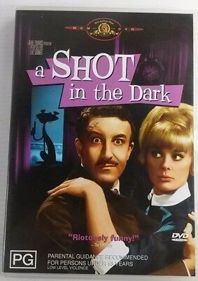 A Shot In The Dark DVD Peter Sellers  Inspector Clouseau Pink Panther series