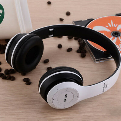 Wireless Bluetooth Sports Headphone With Microphone Portable Stereo FM Headset