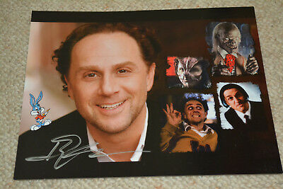 JOHN KASSIR signed  Autogramm 20x25 cm In Person TALES FROM THE CRYPT