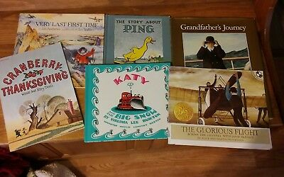 lot of 6 books used in Five in a Row vol. 1& other homeschool curriculum