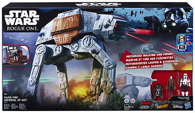 Hasbro Star Wars Rogue One Rapid Fire Imperial AT-ACT - Shoots Nerf Darts!