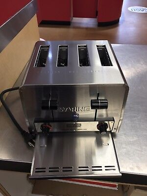 Waring Commercial Heavy Duty Toaster WCT805B