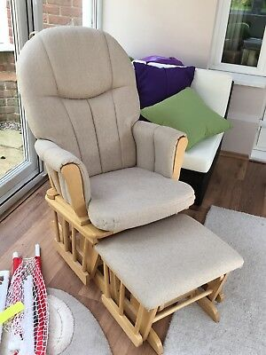 Hauck Nursing Chair and Stool