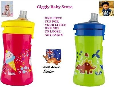 Nuk Sippy Cup Baby To Toddler 100% Spill Proof Soft Silicon Spout
