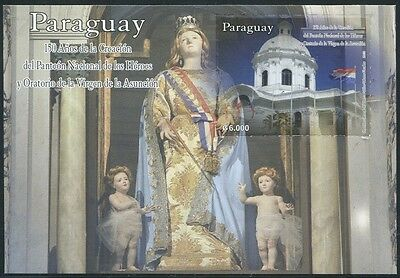 PARAGUAY 2013 Hl. Jungfrau Pantheon Blessed Virgin Mary Religion ** MNH