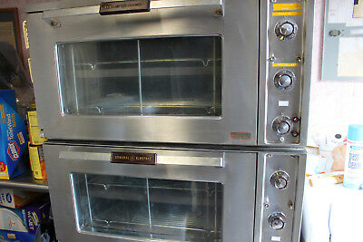 2 commercial pizza/baking ovens