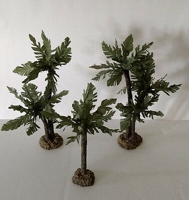 "Fontanini Palm Trees Accessory Set For 2.5"" Heirloom Nativities 51117"