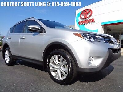 2013 Toyota RAV4 2013 Limited All Wheel Drive Silver AWD Toyota Certified 2013 Rav4 Limited AWD Sunroof Heated Leather Seats Silver 4WD