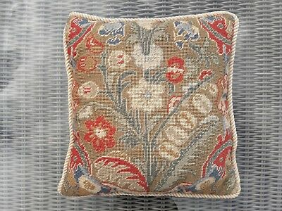 Vaughan Needle Point Cushion Cover and Pad (35 x 35cm)