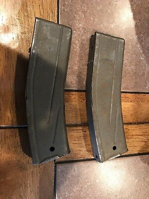 m1 carbine 10 round magazine. Lot of 2!! Nice shape. Working condition.