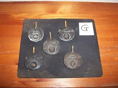 Antique Clock Pendulums #g