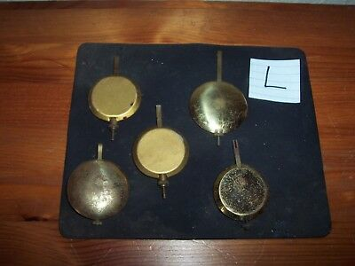 Antique Clock Pendulums #l