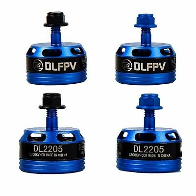 4x DLFPV Brushless Motor DL2205 2300KV 2CW 2CCW for FPV Drone Racing Quadcopter
