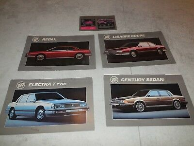 1988 Buick Dealer Showroom Posters!! Five Posters All For One Bid!!!!!