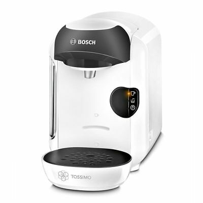 Bosch Tassimo TAS1254GB Vivy Multi Beverage Hot Drinks Coffee Machine 1300 White