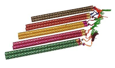Dandiya Sticks – 2pc Wooden Assorted Navratri Dandiya Sticks - Raas Garba Sticks