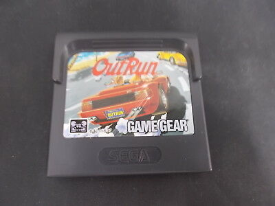 Sega Game Gear Pal Game Cartridge OUT RUN